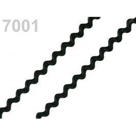 Hadovka - vlnovka šírka 4mm Black 400m
