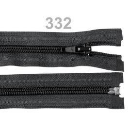 Špirálový zips šírka 5 mm dĺžka 40 cm bundový POL Black 50ks