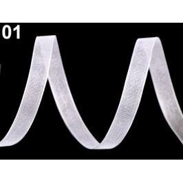 Monofilová stuha šírka 7 mm White 27m Stoklasa