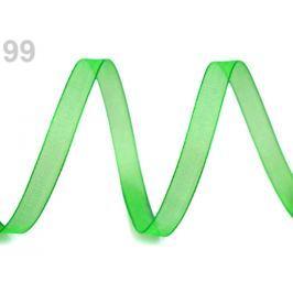 Monofilová stuha šírka 7 mm Classic Green 27m Stoklasa