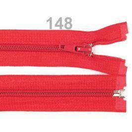Špirálový zips šírka 5 mm dĺžka 85 cm bundový POL High Risk Red 10ks