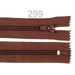 Zips špirálový 5mm,nedeliteľný 18cm POL Monk 50ks