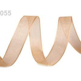 Monofilová stuha šírka 12 mm Vanilla 810m Stoklasa