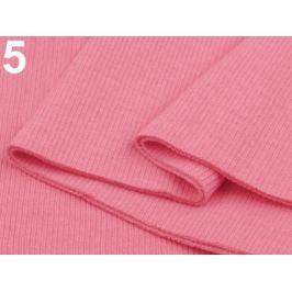 Úplety elastické rebrované - 16x80 cm Sachet Pink 3ks