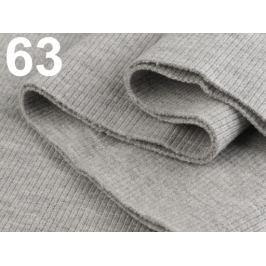 Úplety elastické rebrované - 16x80 cm Light Gray 3ks
