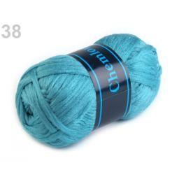 Priadza chemlonka 50 g Ariadne Blue Curacao 1ks