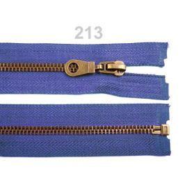 Staromosadzný zips šírka 6 mm dĺžka 70 cm bundový Dazzling Blue 1ks Stoklasa