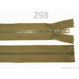Kostený zips šírka 5 mm dĺžka 30 cm bundový Beech 100ks Stoklasa
