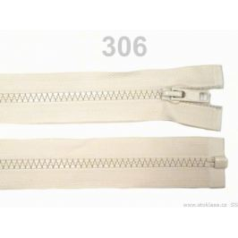 Kostený zips šírka 5 mm dĺžka 30 cm bundový Navajo 100ks Stoklasa