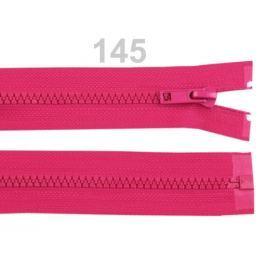 Kostený zips šírka 5 mm dĺžka 35 cm bundový Fandango Pink 100ks Stoklasa
