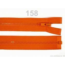 Kostený zips šírka 5 mm dĺžka 65 cm bundový Golden Poppy 10ks Stoklasa