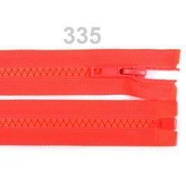 Kostený zips šírka 5 mm dĺžka 80 cm bundový Emberglow 1ks Stoklasa