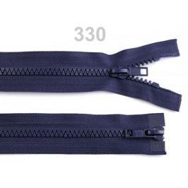 Zips kostený 5mm deliteľný 2 bežce 50 cm bundový Eclipse 100ks Stoklasa