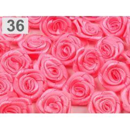 Textilná ružička Ø13-15 mm Pink Lemonade 50ks Stoklasa