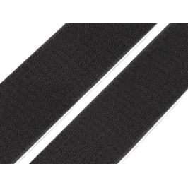 Suchý zips samolepiaci šírka 50 mm čierny háčik Black 100m Stoklasa