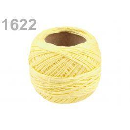 Vyšívacia priadza Perlovka Blazing Yellow 100ks