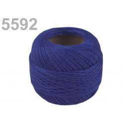 Vyšívacia priadza Perlovka Dazzling Blue 100ks