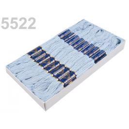 Priadza vyšívacia Mouline Blue Glass 288ks