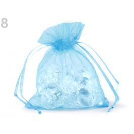 Darčekové vrecúško 9x11 cm organza modrá detská 400ks Stoklasa