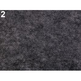 Novopast 60+18g/m2 šíře 90 cm netkaná textilia nažehlovacia Steel Gray 90m