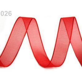 Monofilová stuha šírka 9 mm Fiery Red 27m Stoklasa