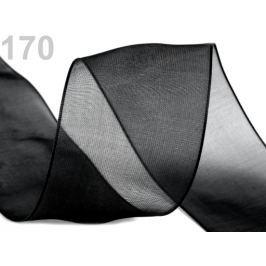Monofilová stuha šírka 40 mm Black 27m Stoklasa