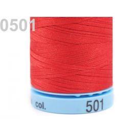 Bavlnené nite 400 m Etiketné č.50 Triana Amann Aurora Red 5ks