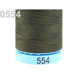 Bavlnené nite 400 m Etiketné č.50 Triana Amann Dark Olive 5ks