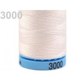Bavlnené nite 400 m Etiketné č.50 Triana Amann Vanilla Ice 5ks