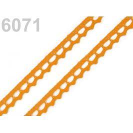 Bavlnená čipka paličkovaná šírka 9 mm Daffodil 30m