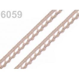 Bavlnená čipka paličkovaná šírka 9 mm Biscotti 150m