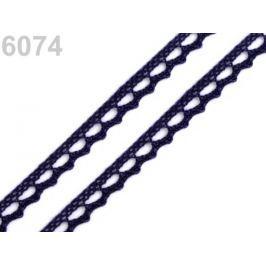 Bavlnená čipka paličkovaná šírka 9 mm Total Eclipse 150m