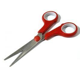 Nožnice Marlen dlžka 14 cm univerzálne červená sv. 3ks Stoklasa