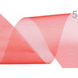 Stuha šifónová rezaná  šírka  50 mm High Risk Red 22m Stoklasa