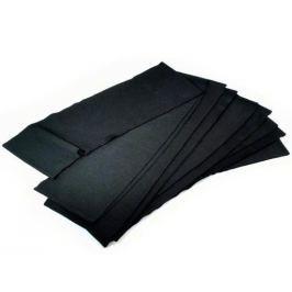 Elastické úplety 16x90-110 cm Black 40ks