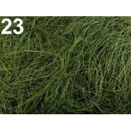 Sisal 50 g prírodný zelená 1sáčok Stoklasa