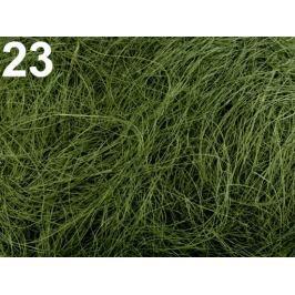 Sisal 50 g prírodný zelená 10sáčok Stoklasa