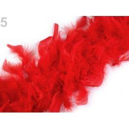 Boa - morčacie perie 60g dĺžka 1,8m rôzne farby červená 1ks Stoklasa