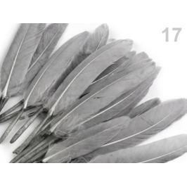 Kačacie perie dĺžka 9-14 cm šedá sv 1sáčok Stoklasa