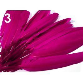 Kačacie perie dĺžka 9-14 cm ružová kriklavá 10sáčok Stoklasa