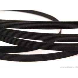 Kostice šírka  8mm tkané typ B čierna FISZ Black 20m