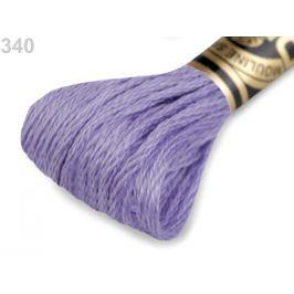 Vyšívacia priadza DMC Mouliné Spécial Cotton fialková 1ks