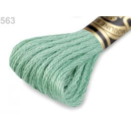 Vyšívacia priadza DMC Mouliné Spécial Cotton Green Ash 1ks