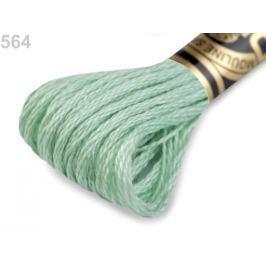 Vyšívacia priadza DMC Mouliné Spécial Cotton zelená past.sv. 1ks