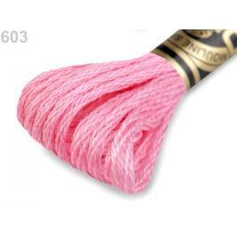Vyšívacia priadza DMC Mouliné Spécial Cotton Sachet Pink 1ks