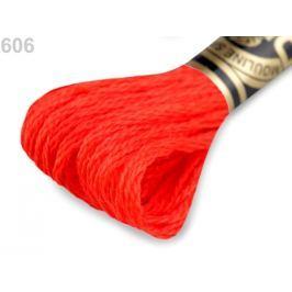 Vyšívacia priadza DMC Mouliné Spécial Cotton červená šarlatová 1ks