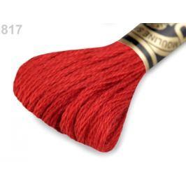Vyšívacia priadza DMC Mouliné Spécial Cotton rosso 1ks
