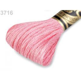 Vyšívacia priadza DMC Mouliné Spécial Cotton Candy Pink 1ks