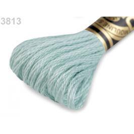 Vyšívacia priadza DMC Mouliné Spécial Cotton tyrkys 1ks
