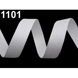 Keprovka - tkaloun šírka 18 mm biela 50m